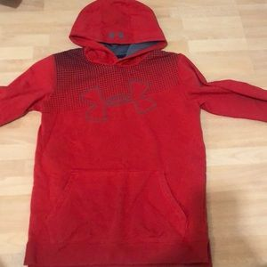 Boys under armour hoodie. Youth XL